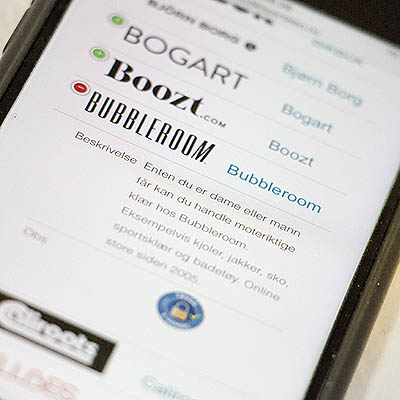 Super mobilvennlighet er et av hovedmålene for eButikker.no.