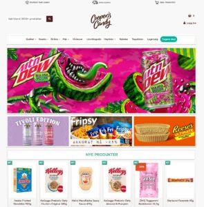 Coopers Candy nettbutikk