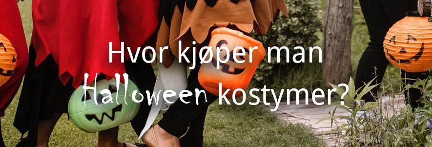 Hvor kjøper man Halloween kostymer? 1