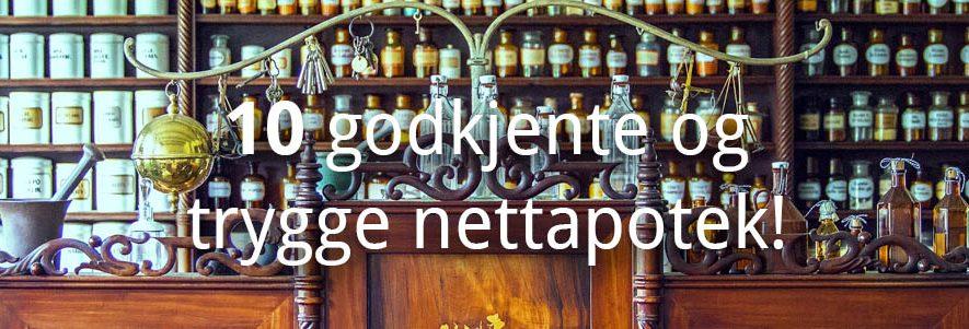 10 Godkjente og trygge apotek på nett! (2020) 1