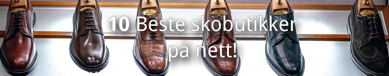 10 Beste skobutikker på nett
