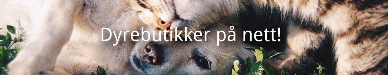 Norske dyrebutikker på nett