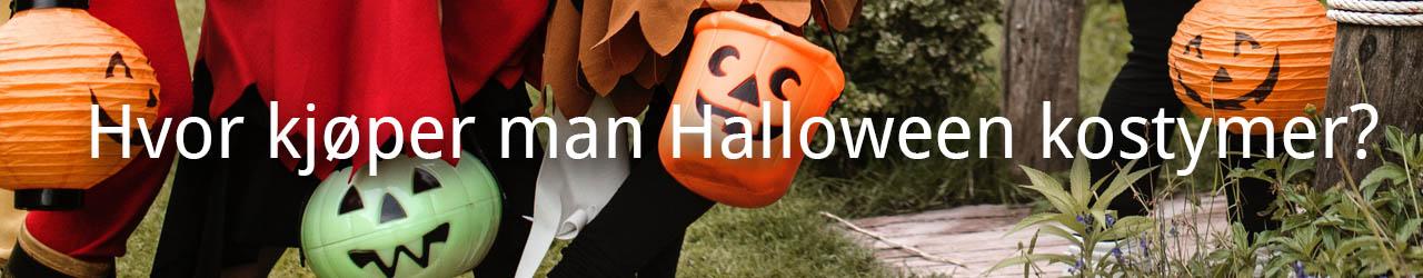 Hvor kjøper man Halloween kostymer?