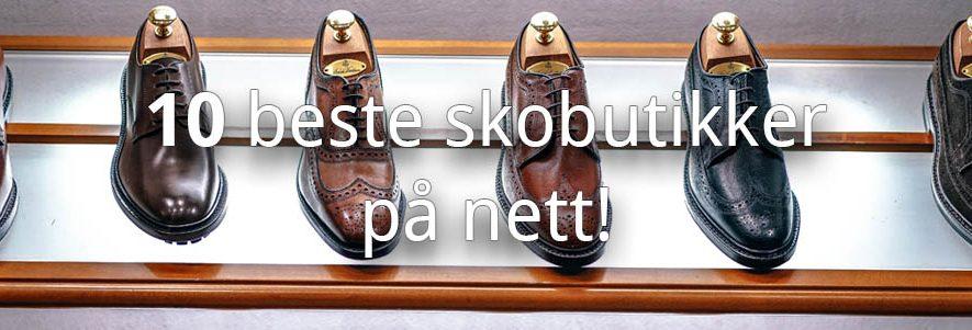 10 Beste skobutikker på nett med alle typer sko 1