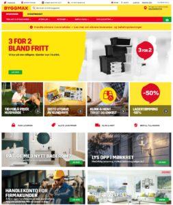 Byggmax nettbutikk