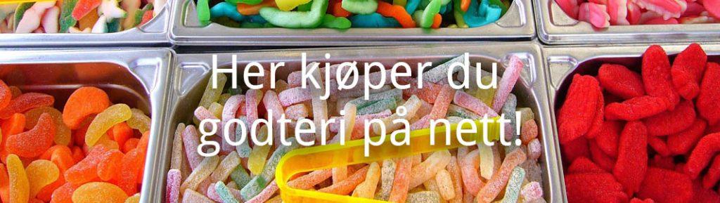 nettbutikker der du kan kjøpe godteri