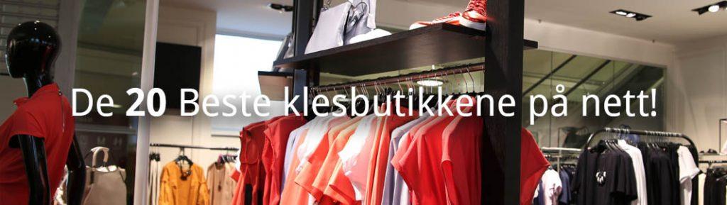 klesbutikker på nett