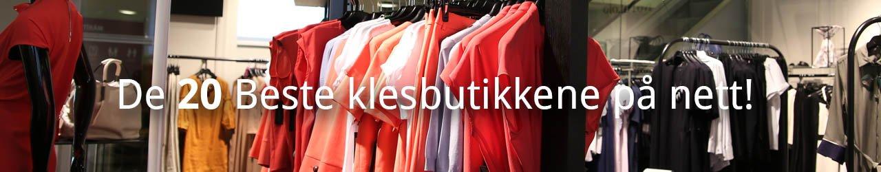 Beste klesbutikker på nett