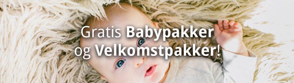 Gratis Babypakker og Velkomstpakker