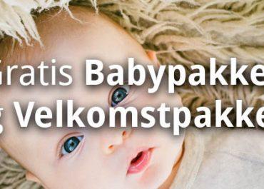 20 Gratis Babypakker og Velkomstpakker! (oppdatert 2019)