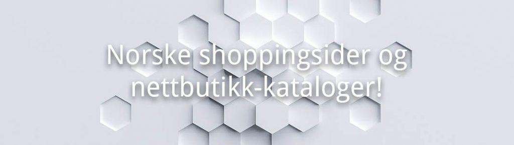 Norske shopping sider