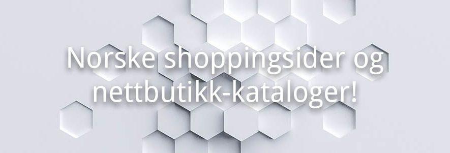 Norske shopping sider og oversikter over nettbutikker! (2019) 6