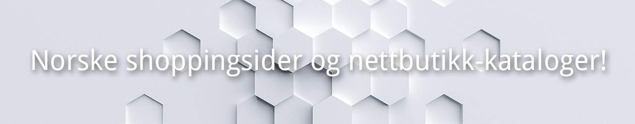 Norske shopping sider og nettbutikk-kataloger!
