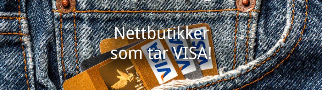 Nettbutikker som tar VISA