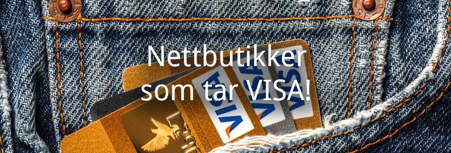 Nettbutikker som tar VISA! (2020) 1