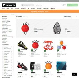 Outnorth nettbutikk