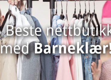 15 Beste nettbutikker med barneklær på nett! (2019)