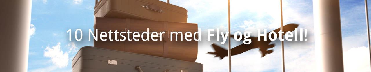 Topp 10 Nettsteder Med Fly Og Hotell!