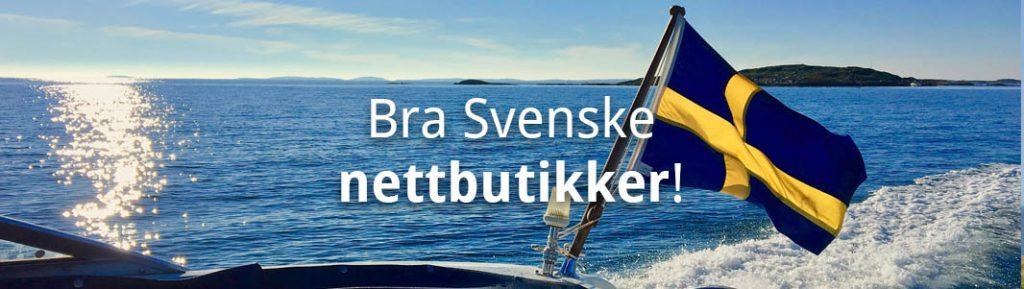 Svenske nettbutikker