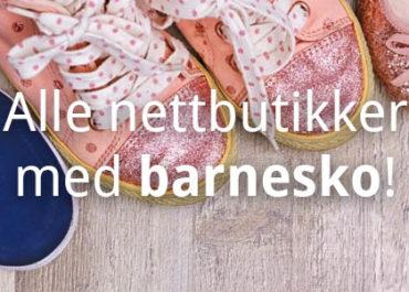 Alle nettbutikker med barnesko! (2019)