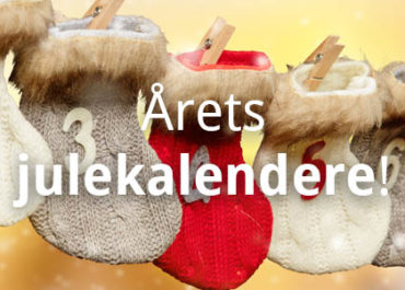 Årets julekalendere i 2019 og hvor de kan kjøpes!