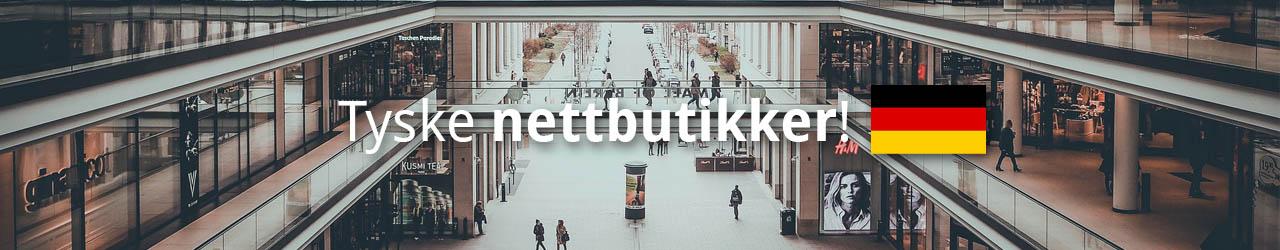 Tyske Nettbutikker Som Shipper Til Norge!