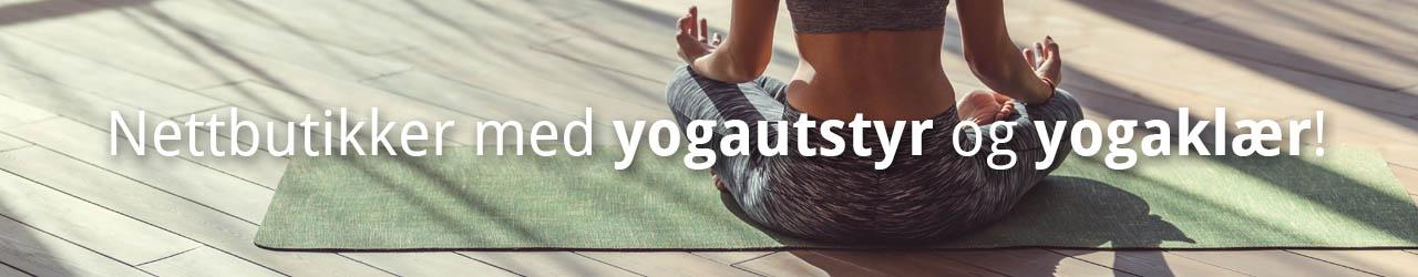 Nettbutikker med yogautstyr og yogaklær