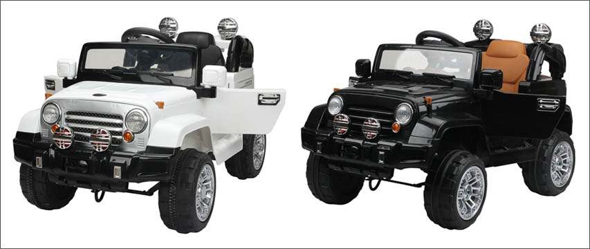 Alex's Garage Elbil Jeep Farger