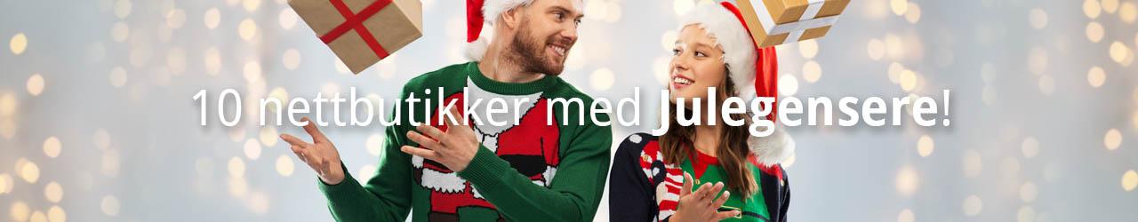 nettbutikker med julegensere