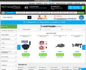 MyTrendyPhone nettbutikk
