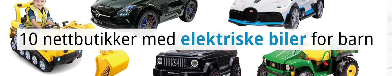 nettbutikker_elektriske_biler_for_barn