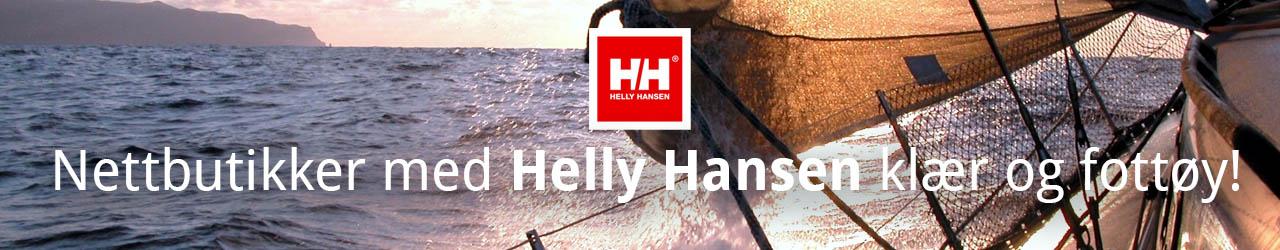 Nettbutikker med Helly Hansen klær og sko