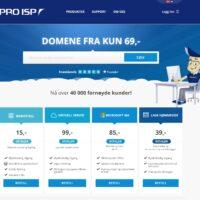 PRO ISP nettbutikk