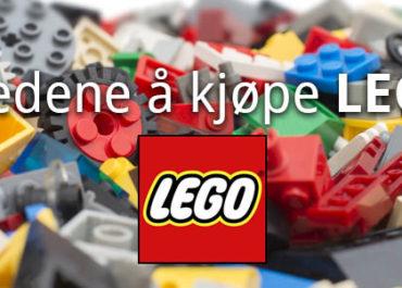De 10 beste stedene å kjøpe LEGO på nett! (Nettbutikker 2020)