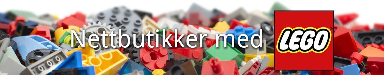 Nettbutikker med LEGO