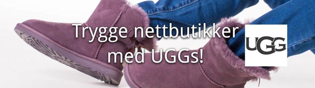 trygge_Butikker med merket UGG på nett