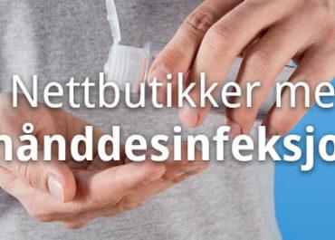 Her kan du kjøpe hånddesinfeksjon i nettbutikk! (2020)