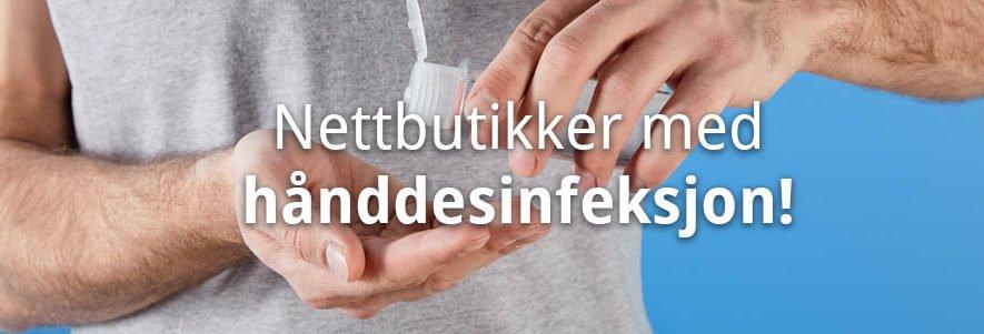 Her kan du kjøpe hånddesinfeksjon i nettbutikk