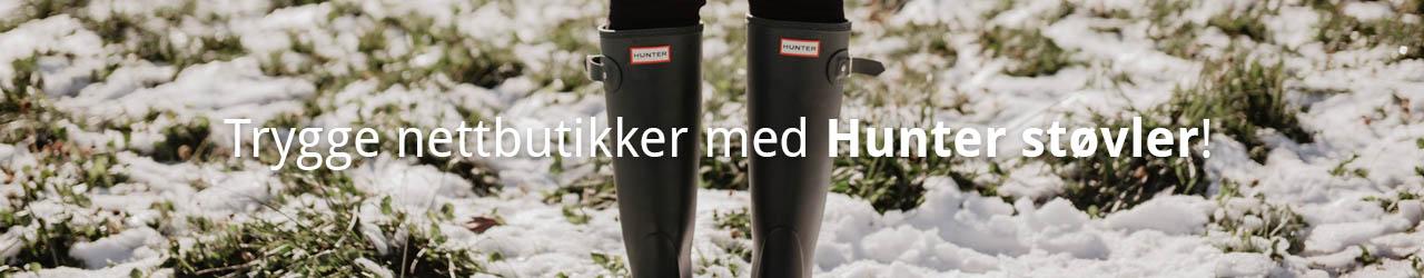 Trygge Nettbutikker Med Hunter Støvler!