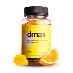 Dmax D-vitamin Gratis Vareprøve