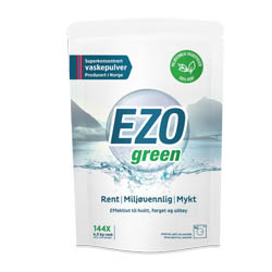 EZOgreen vaskemiddel Gratis Vareprøve