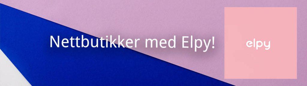 Nettbutikker med Elpy