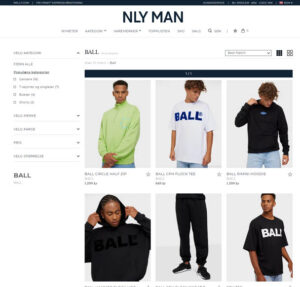 BALL hos NLY Man