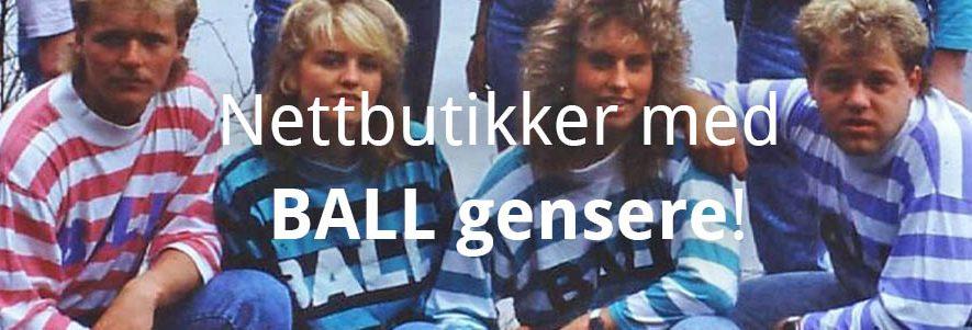 2 Nettbutikker som selger BALL gensere! (2020) 4