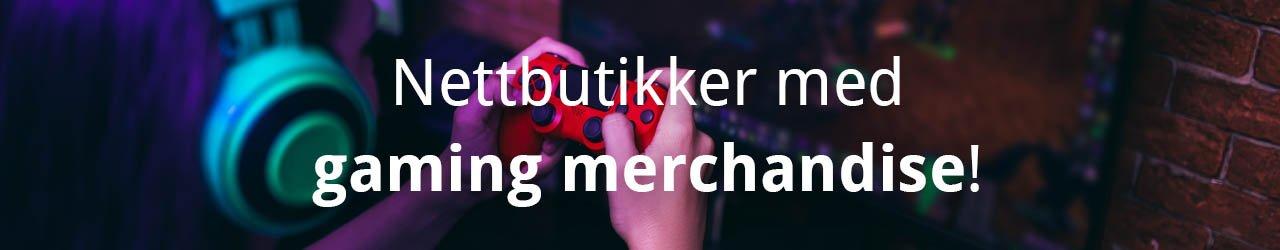 6 spennende nettbutikker med gaming merch!