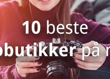 10 beste fotobutikker på nett! (2020)