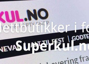 En Superkul nettbutikk med mye superkult, festlig og fint! (2020)