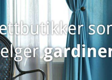 22 Nettbutikker som selger gardiner! (2020)