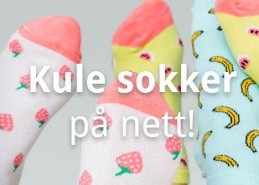 10 Nettbutikker med morsomme og kule sokker