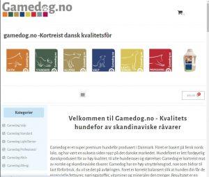 Gamedog.no nettbutikk